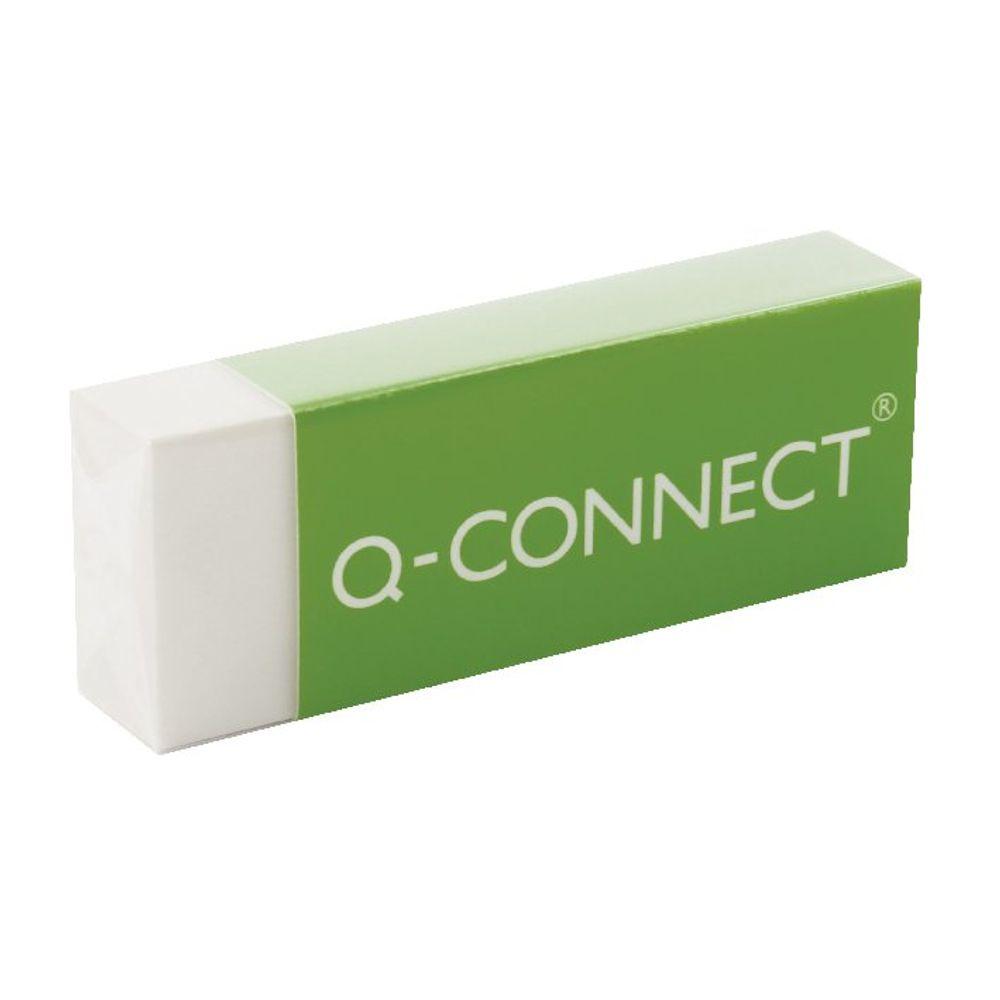 Q-Connect Plastic Eraser - Pack of 20 - KF00236