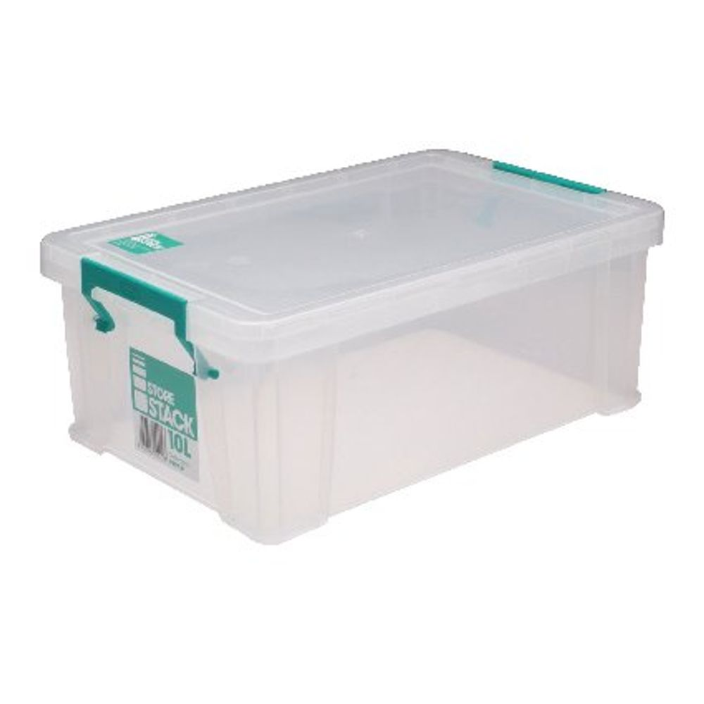 StoreStack 10L Storage Box with Lid - S20M100VW