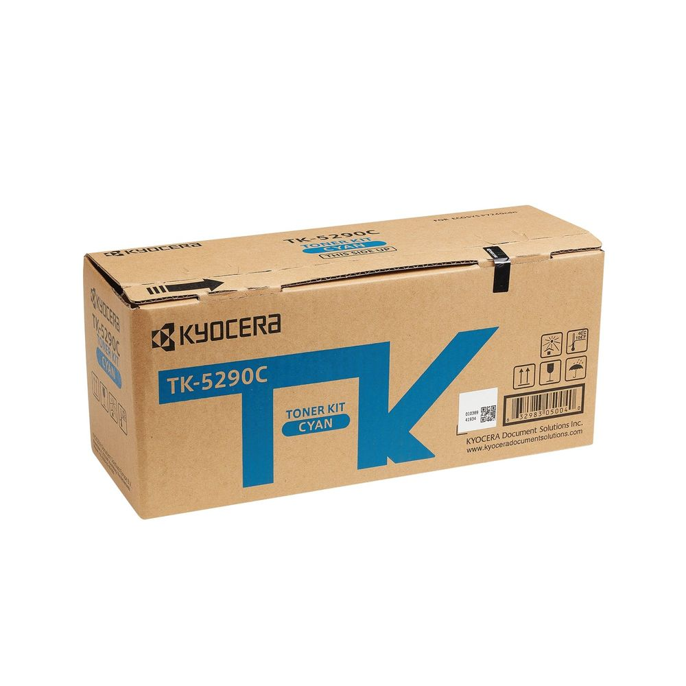Kyocera Cyan Toner Cartridge for ECOSYS P7240cdn TK-5290C