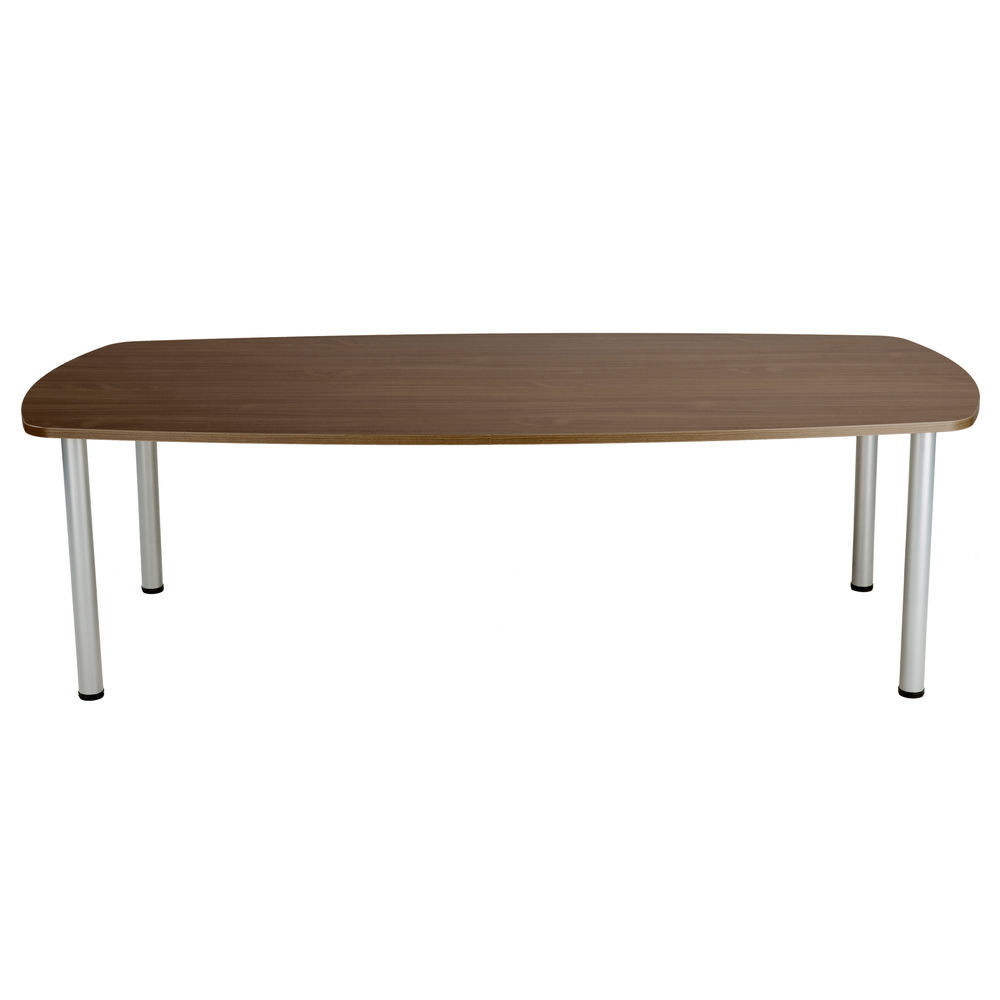 Jemini 1800mm Walnut Boardroom Table