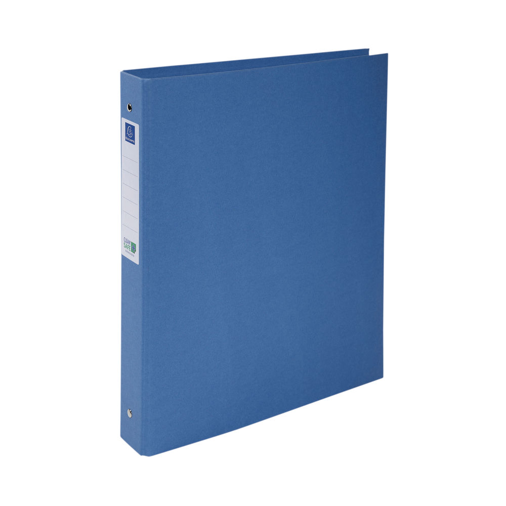 Exacompta A4 Blue 30mm Clean Safe 2 Ring Binder - 54222E