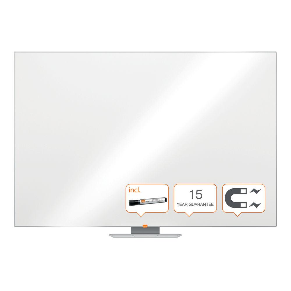 Nobo Classic Magnetic Steel Whiteboard, 1800x1200mm - 1902648