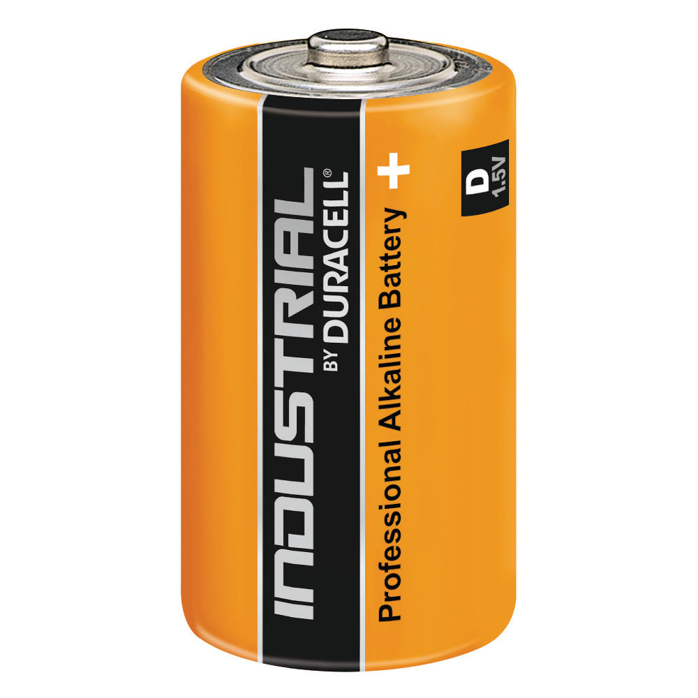 Duracell Industrial Batteries Size D 1.5V – 81451917