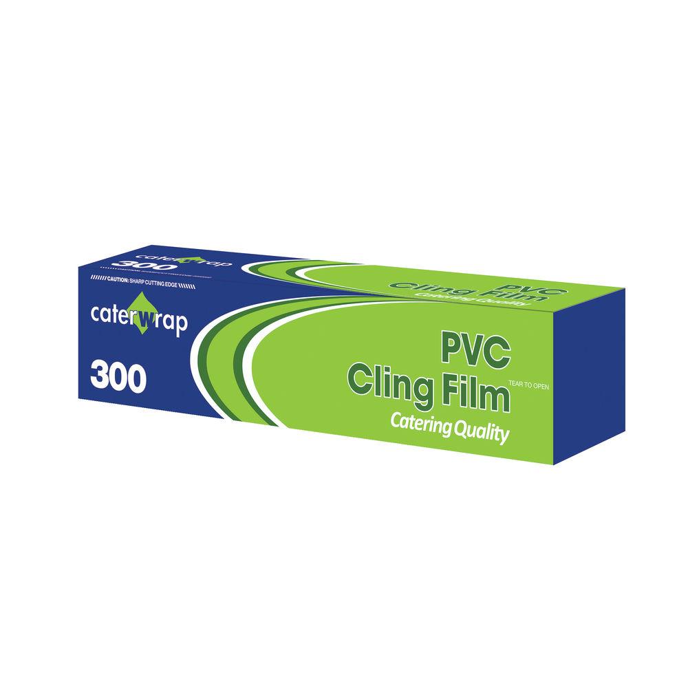 Caterwrap 300mm x 300m Cling Film Cutter Box - 32C08