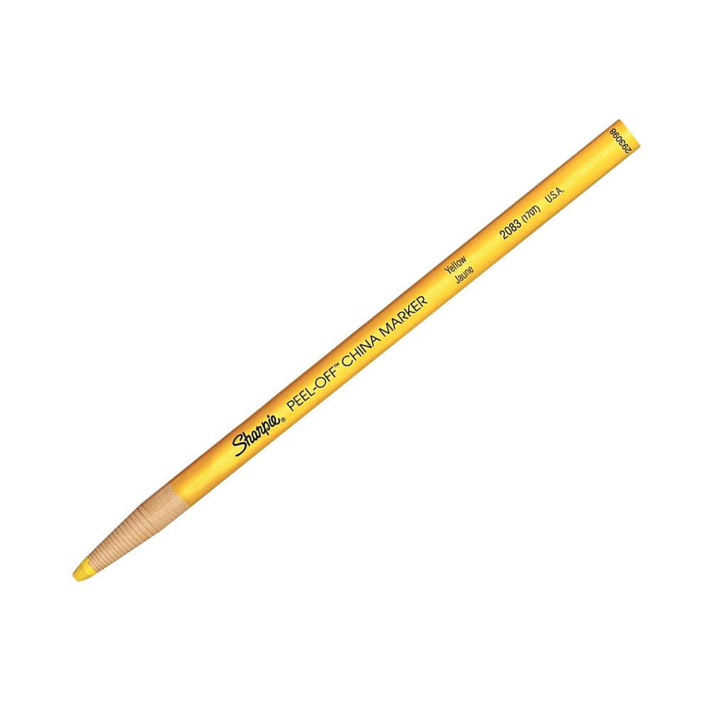Sharpie Yellow China Marker Pencils, Pack of 12 - GL03515