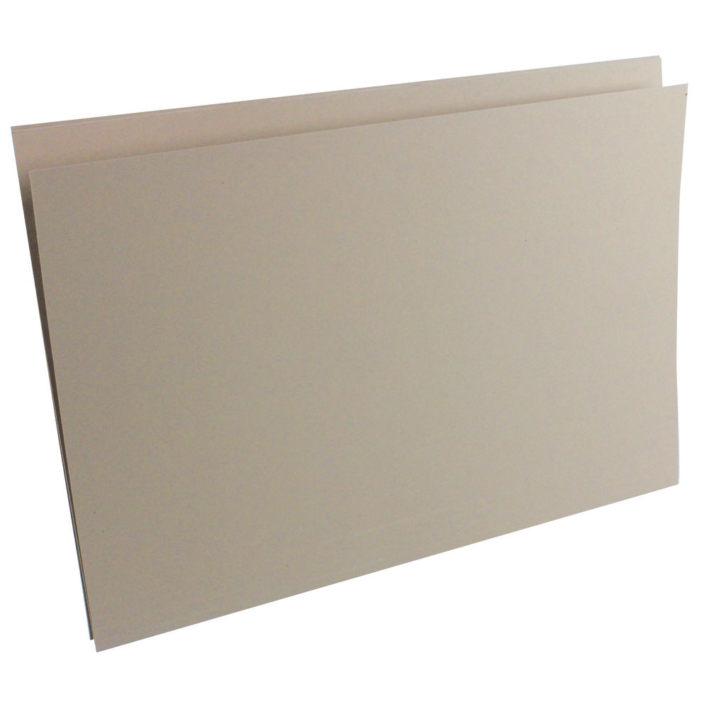 Guildhall Buff A4 Square Cut Folders 315gsm - Pack of 100 - FS315-BUFF