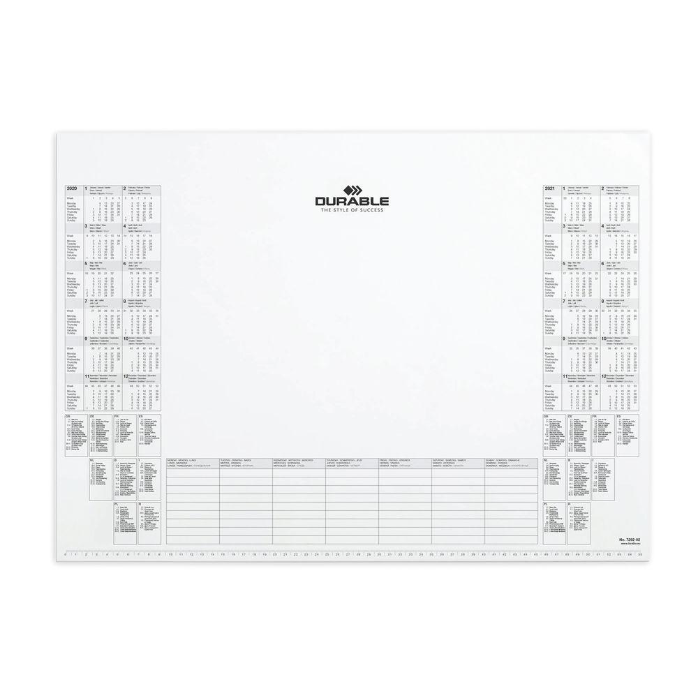 Durable Desk Mat Paper Inlay 570mm x 405mm - 7292/02