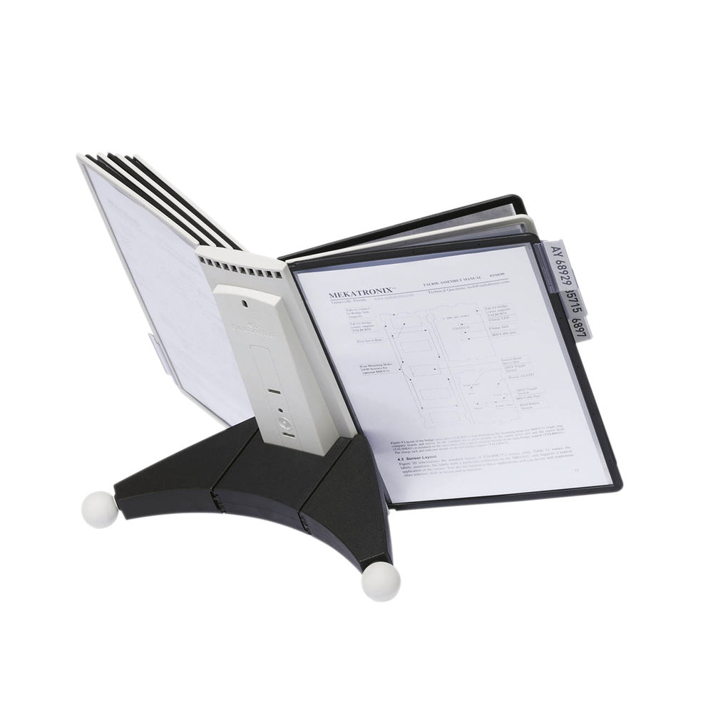 Durable Grey and Black Sherpa Desk Unit 10 - 5632-22