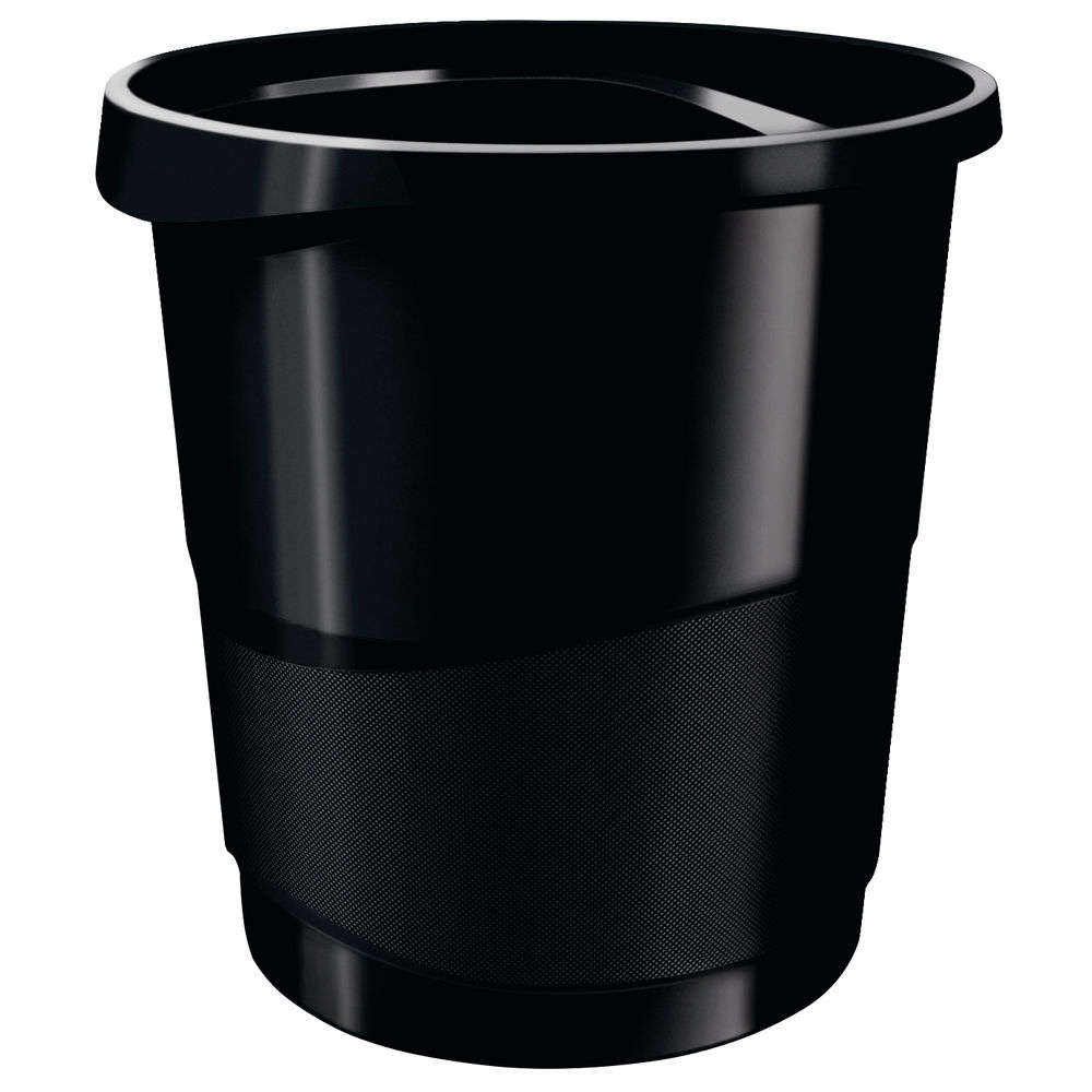 Rexel Choices Black Waste Bin - 2115622