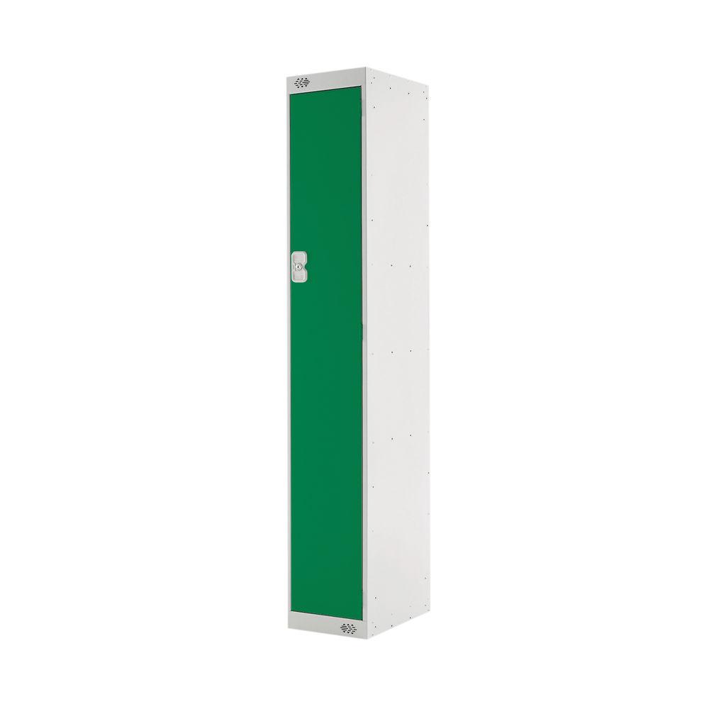 One Compartment D450mm Green Locker - MC00040
