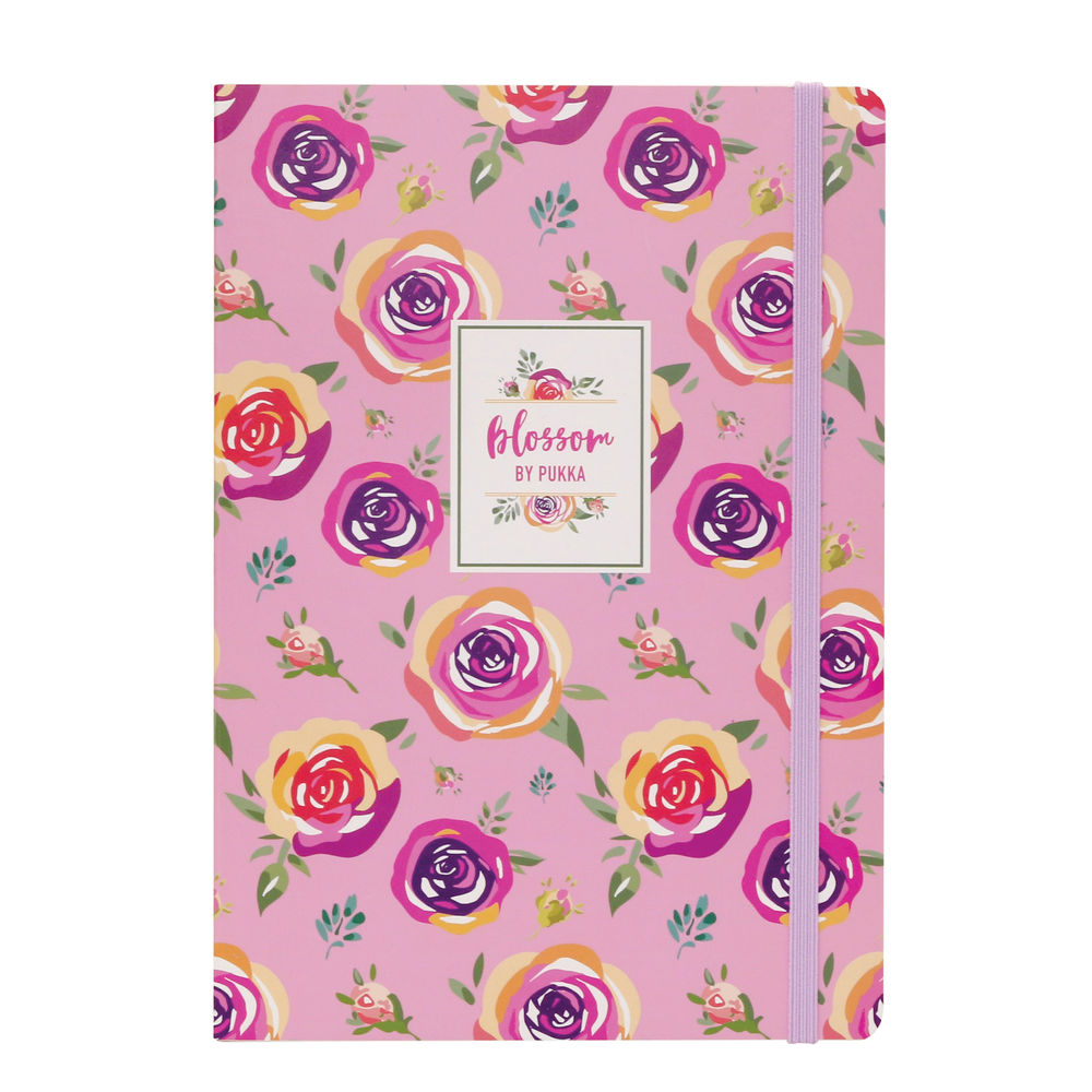Pukka Pad Blossom A5 Notebooks, Pack of 3 - 8649(AST)-BLO