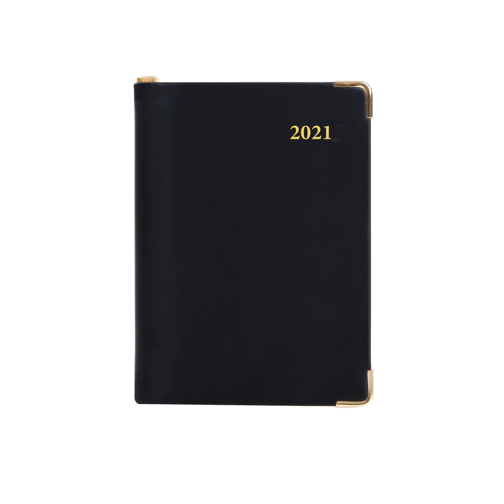 Collins Leadership Diary Day Per Page 4 Person Appt A4 Blk 2021 CP6742