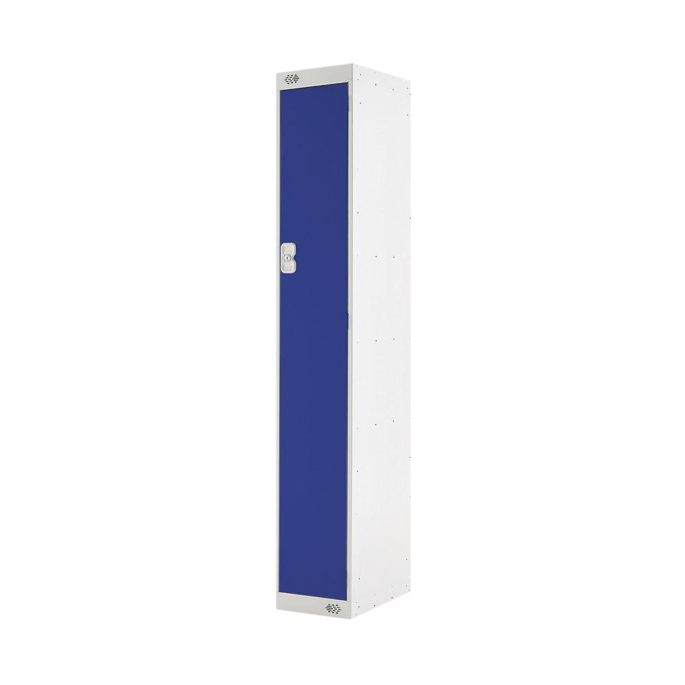 One Compartment D450mm Blue Locker - MC00037