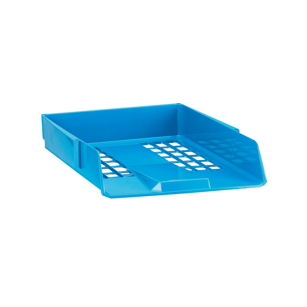 Avery Blue Basic A4/Foolscap Letter Tray - 1132BLUE