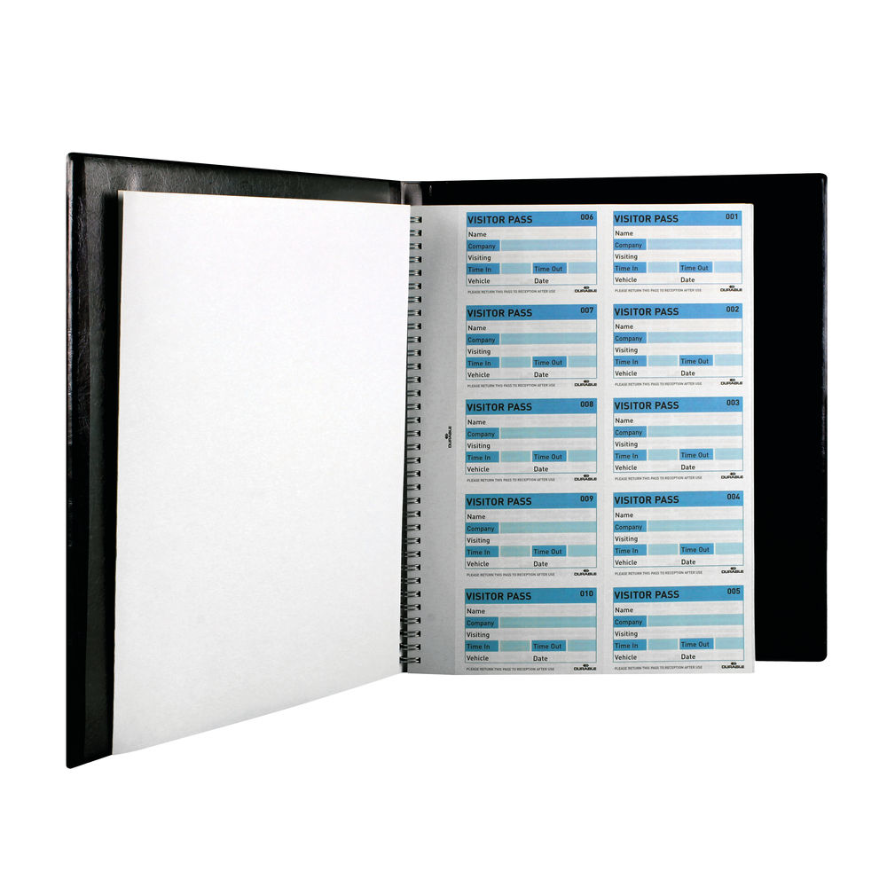 Durable Visitors Book System, 300 Inserts - 1465