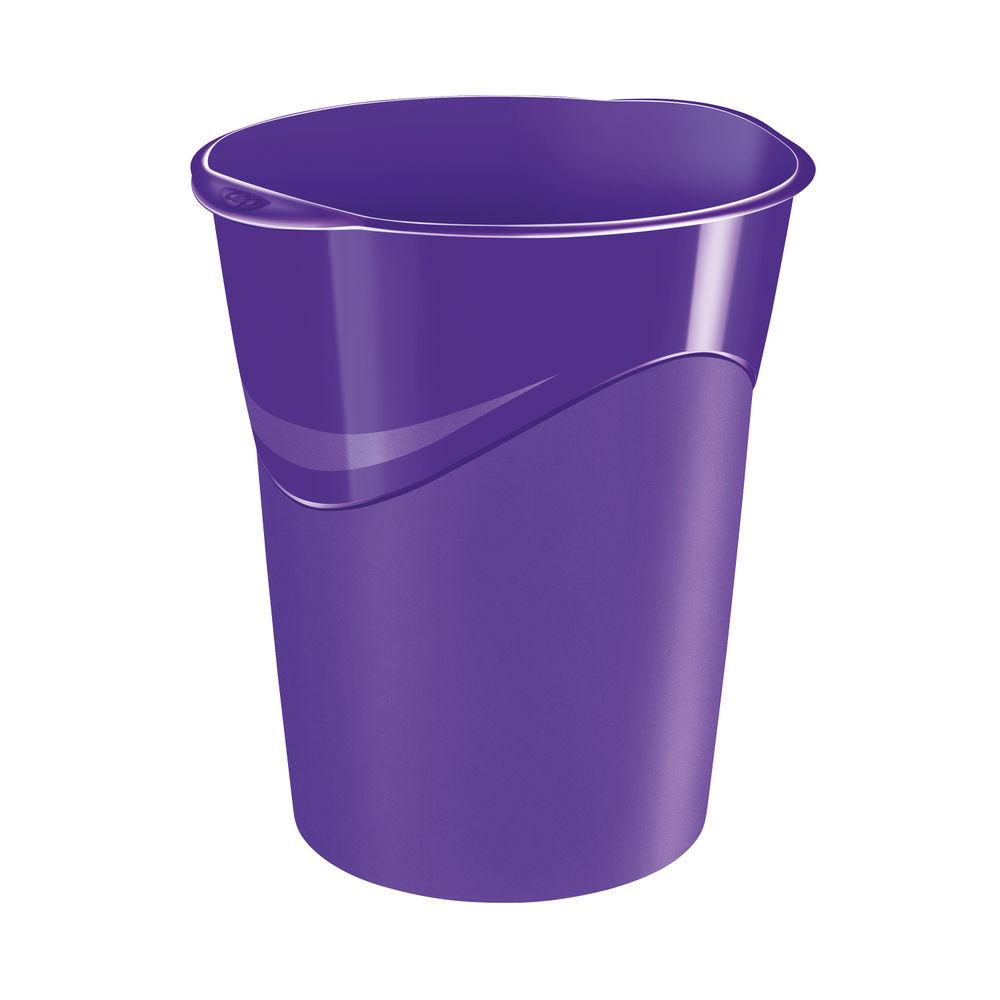 CEP Pro Purple Gloss Waste Bin - 280G PURPLE