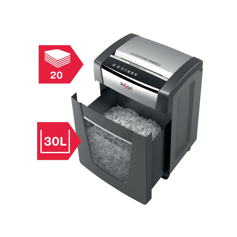 Rexel Momentum M515 Micro-Cut Shredder - 2104577