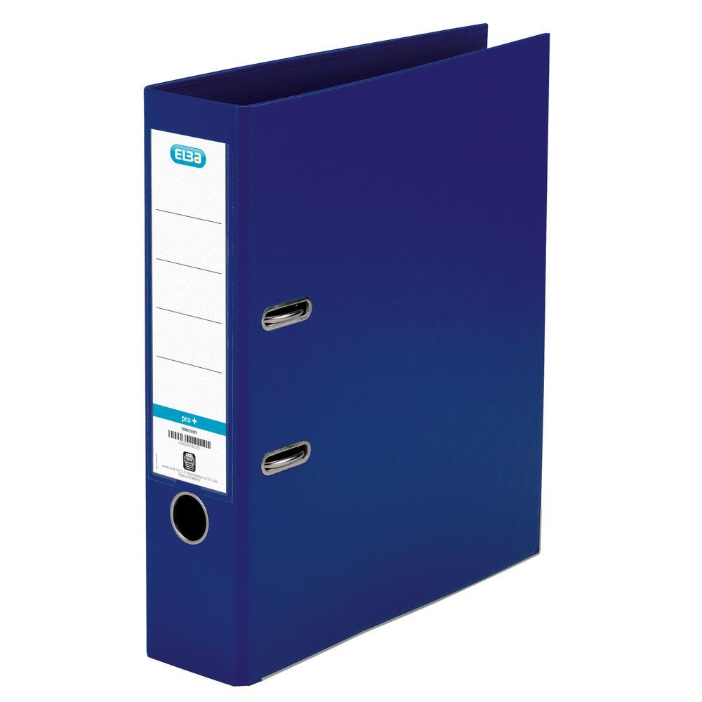 Elba Blue PVC A4 Lever Arch File 70mm - 1450-01