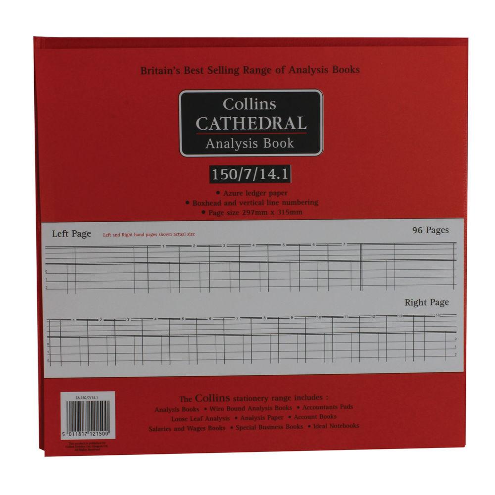 Collins Cathedral Petty Cash Book, 7 Debit 14 Credit Columns  - 812150/8