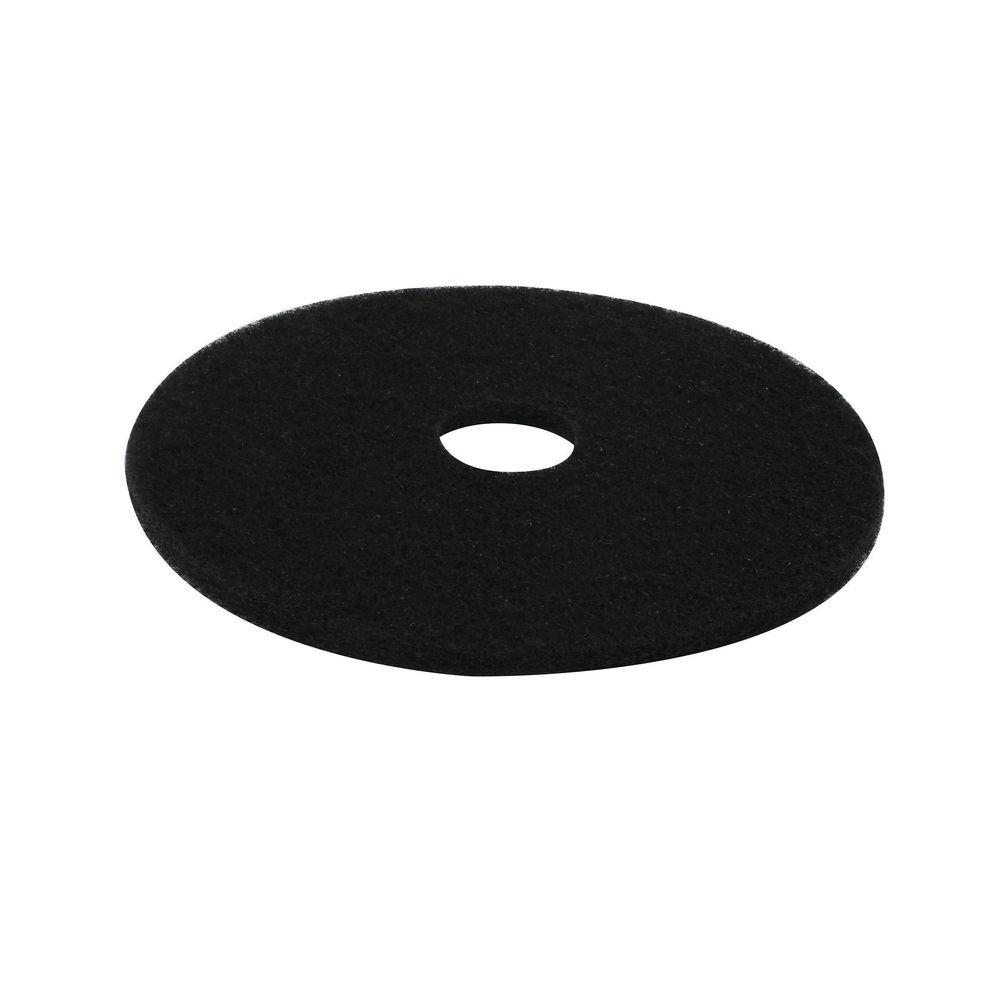 3M 430mm Black Stripping Floor Pads, Pack of 5 - 2NDBK17