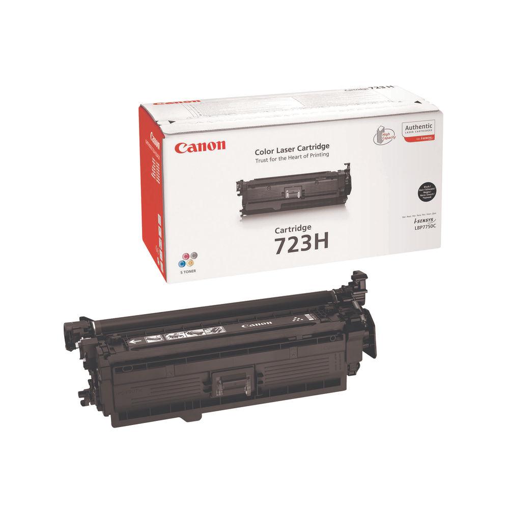 Canon 723H Black Toner Cartridge - High Capacity 2645B002AA