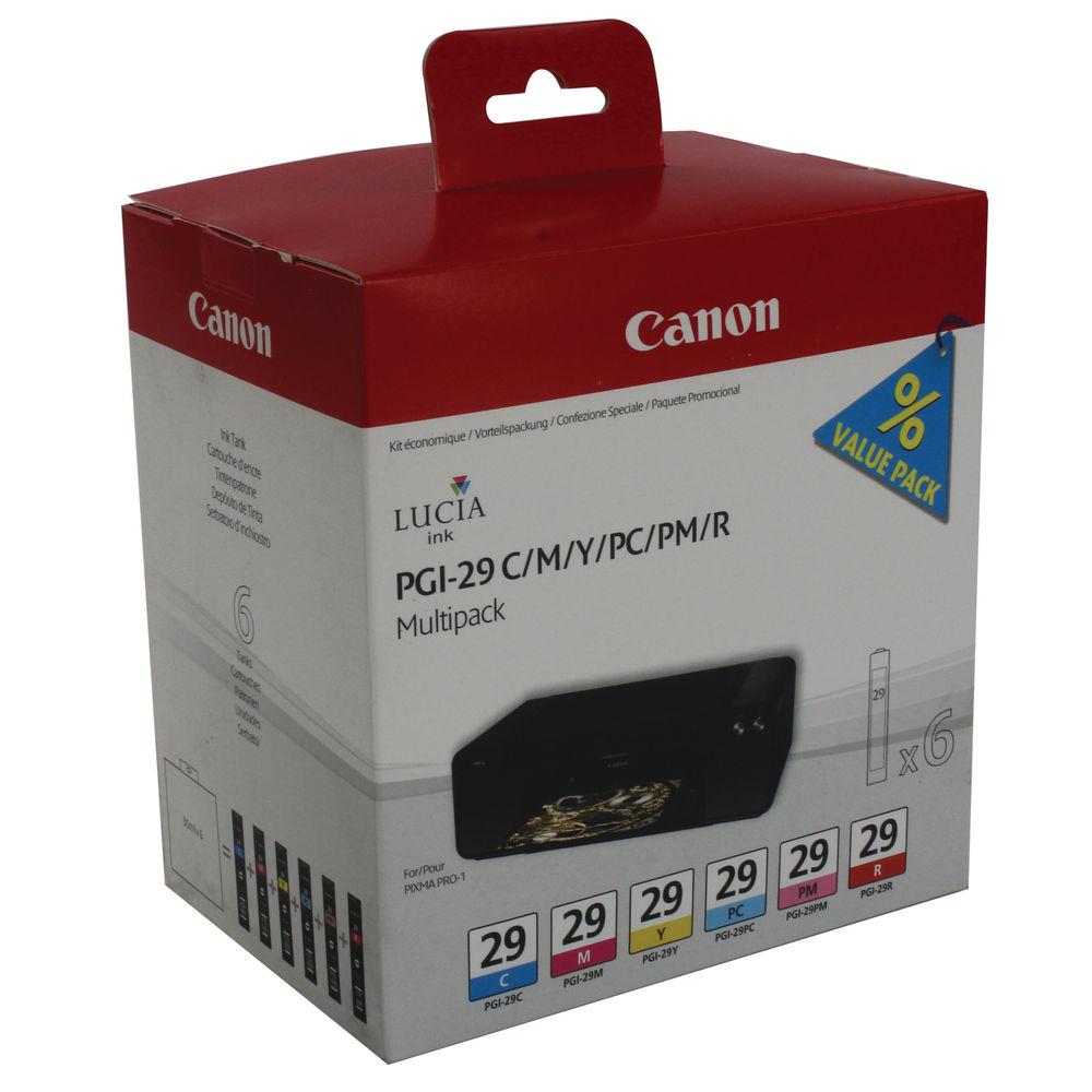 Canon PGI-29 Colour Ink Multipack - PGI-29