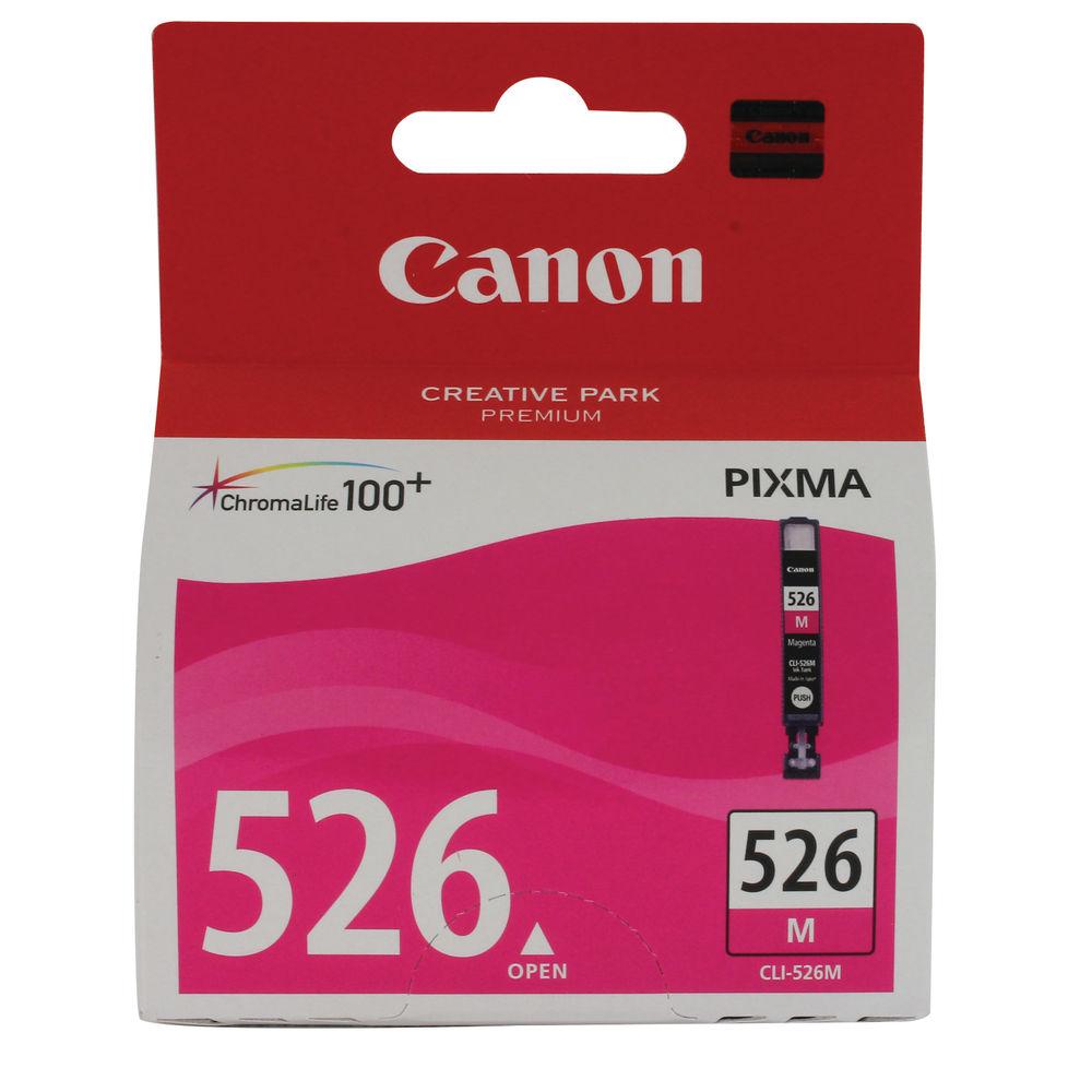 Canon CLI-526M Magenta Ink Cartridge - 4542B001