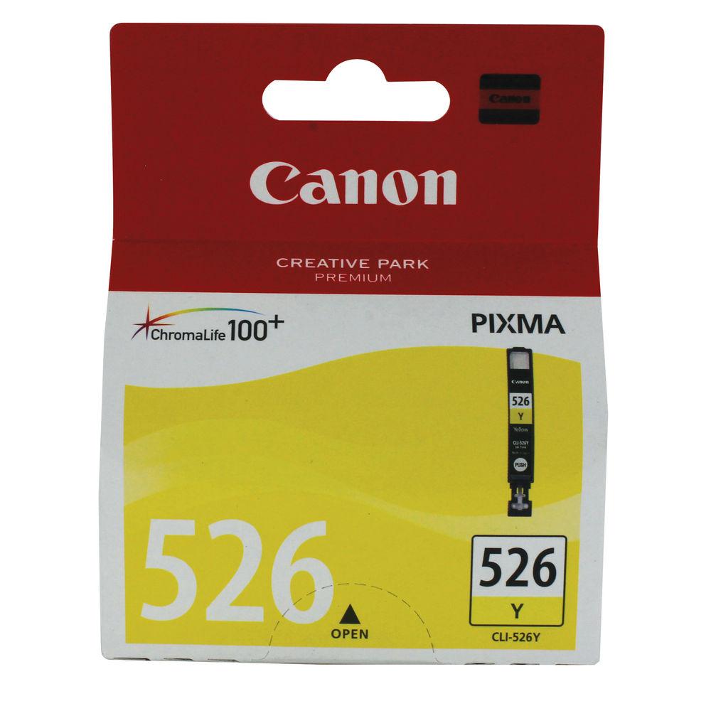 Canon CLI-526Y Yellow Ink Cartridge - CLI-526 Y