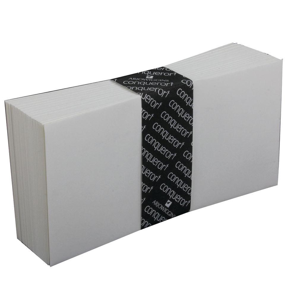 Conqueror White High Wove Peel/Seal Plain DL Envelopes 120gsm, Pk500 - CWE1439HW