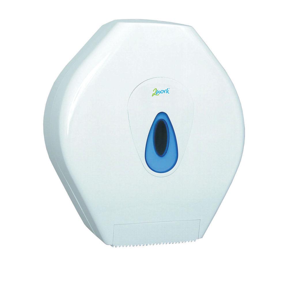 2Work Mini Jumbo Toilet Roll Dispenser - DS0958