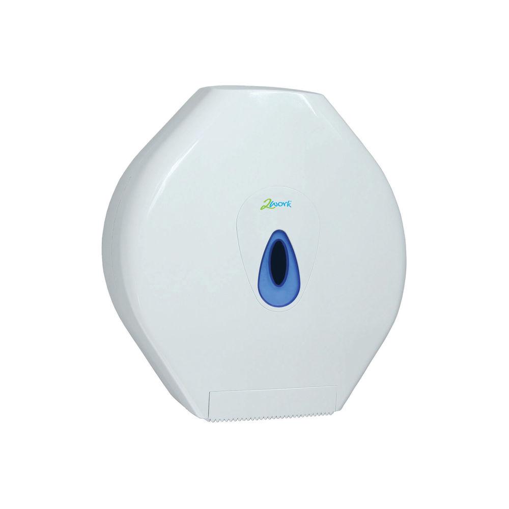 2Work Standard Jumbo Toilet Roll Dispenser DS925E