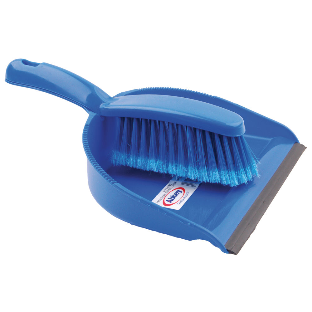 Blue Dustpan and Brush Set – 102940BU