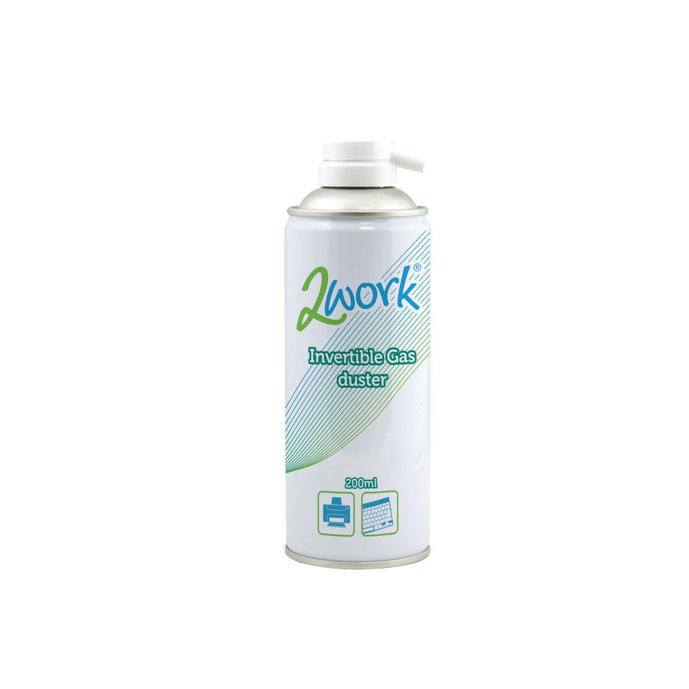 2Work Invertible Air Duster Spray 200ml - DB50462