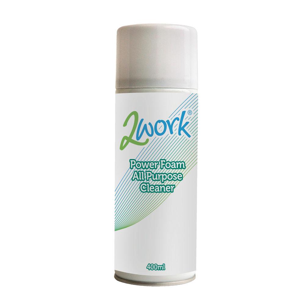 2Work 400ml Power Foam All Purpose Cleaner - DB57168