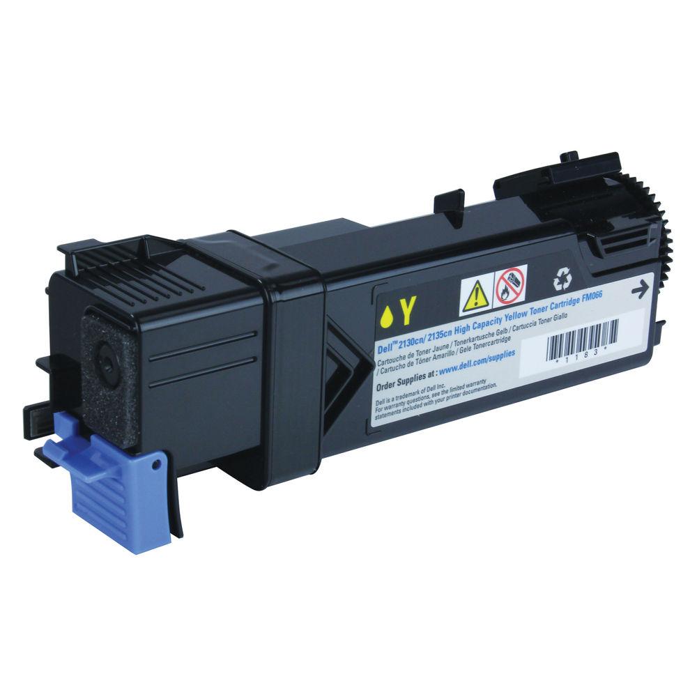 Dell 2130Cn Yellow Laser Toner - High Capacity 593-10314