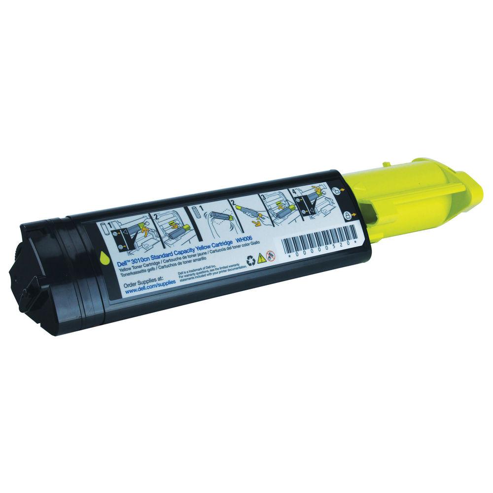 Dell 3010CN Yellow Toner Cartridge - 593-10156
