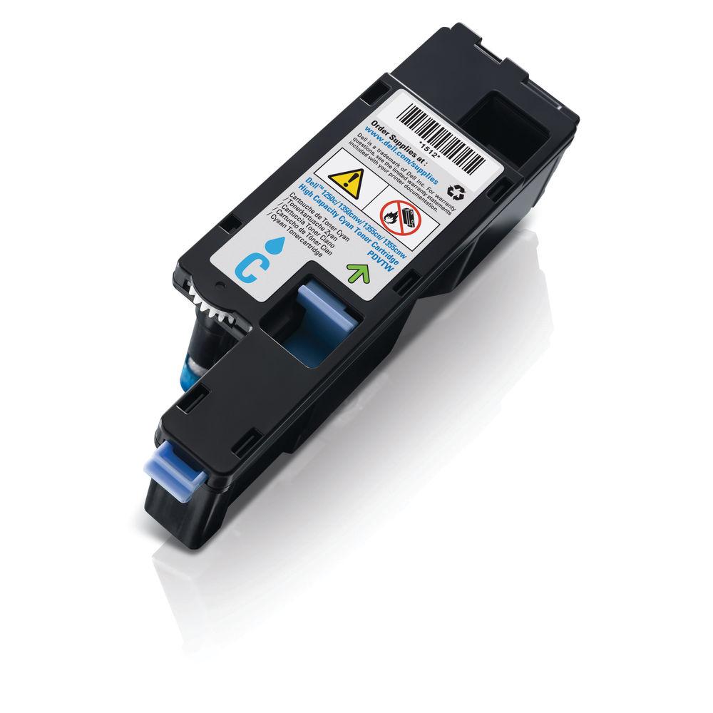 Dell C17xx/1250/135x High Capacity Cyan Toner Cartridge 593-11141