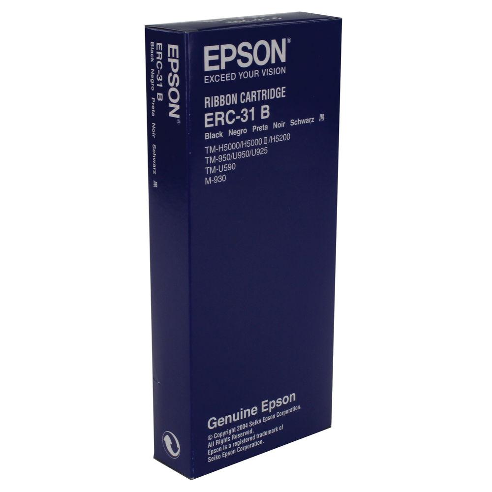 Epson ERC-31B Black Fabric Ribbon- C43S015369