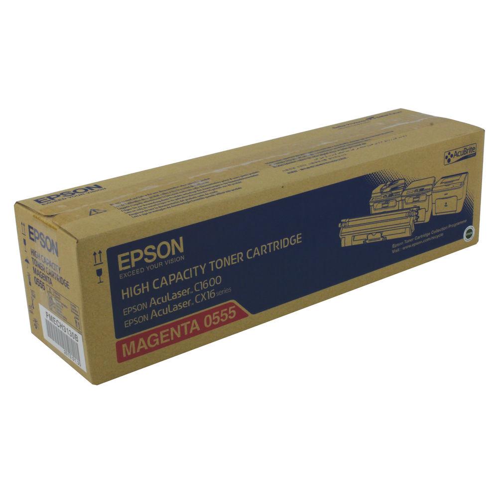 Epson C1600 Magenta Toner Cartridge - C13S050555