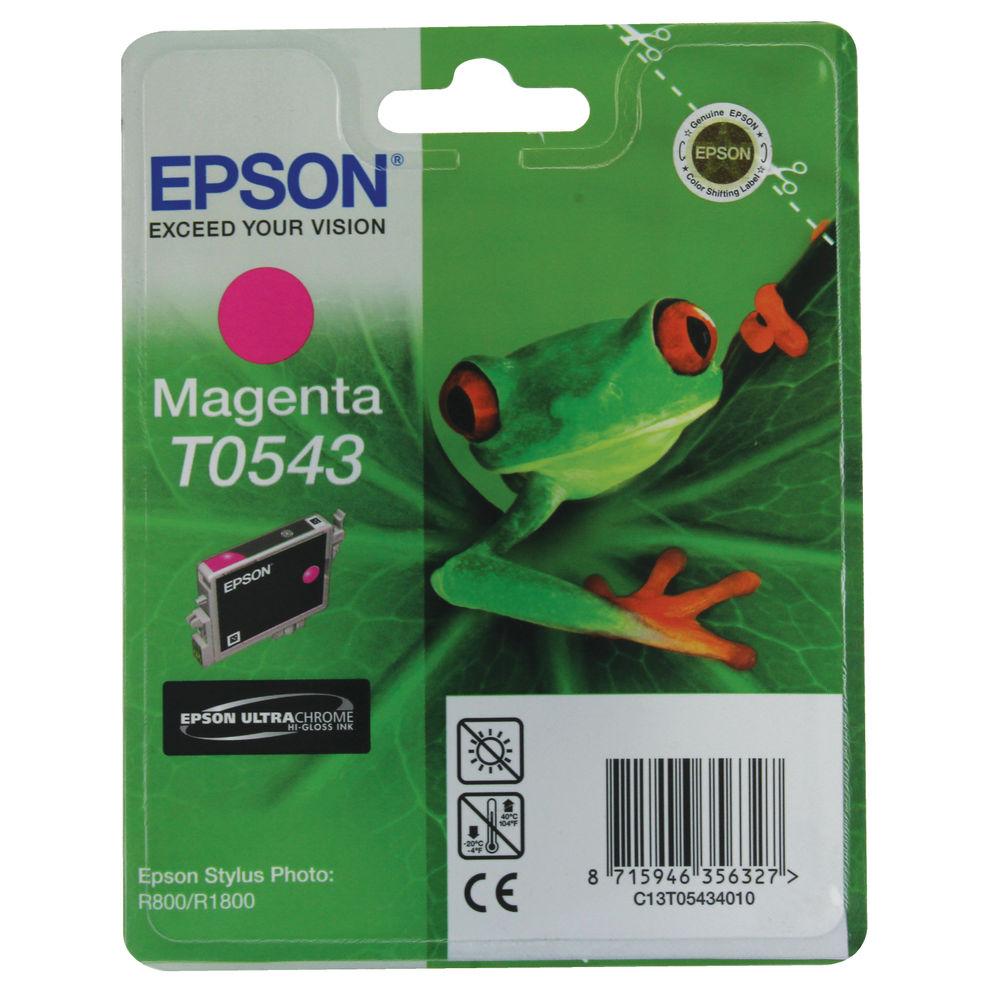 Epson T0543 Magenta Ink Cartridge - C13T05434010