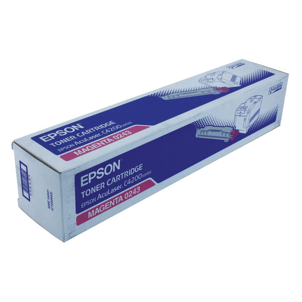 Epson C4200 Magenta Toner Cartridge - C130S050243