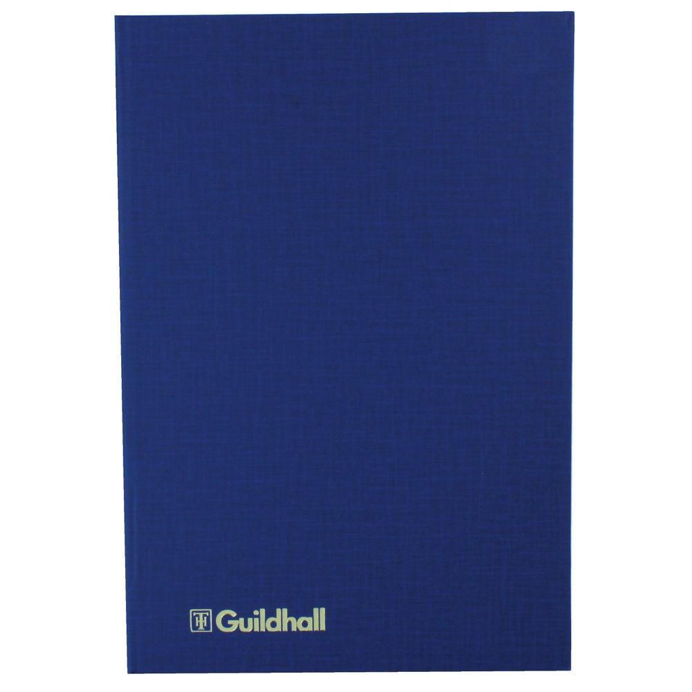 Guildhall Blue 31 Series, 6 Cash Columns Account Book - 1018