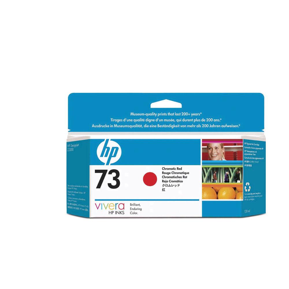 HP 73 Red Inkjet Cartridge 130ml CD951A