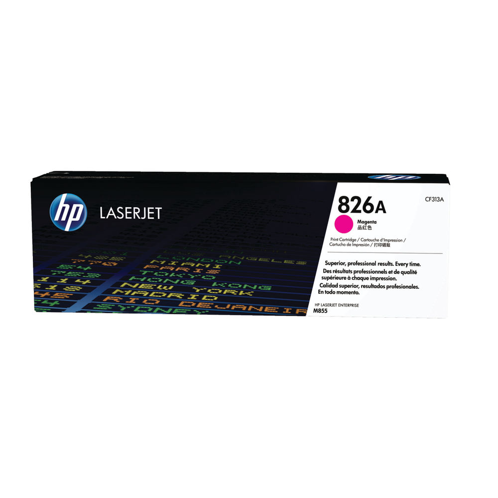 HP 826A Magenta Toner Cartridge - CF313A