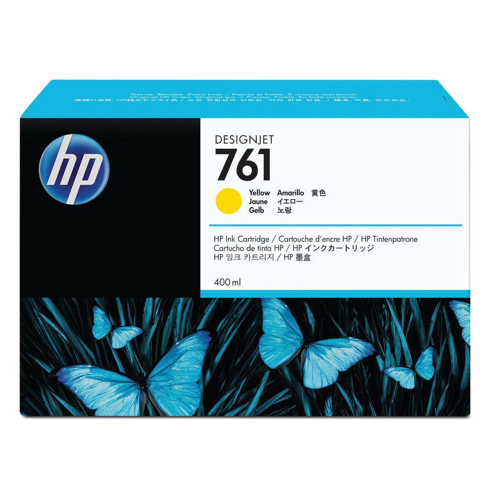 HP 761 Yellow Ink Cartridge - CM992A
