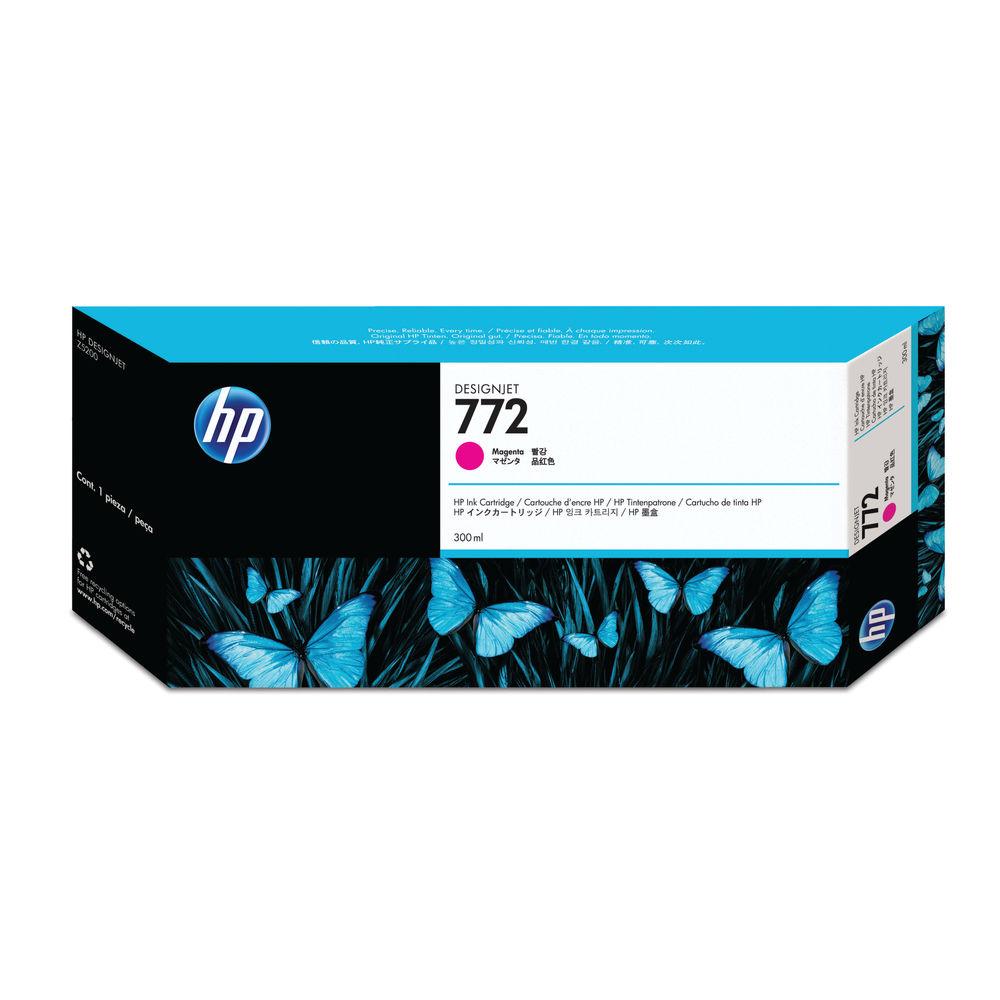HP 772 Magenta Ink Cartridge 300ml CN629A