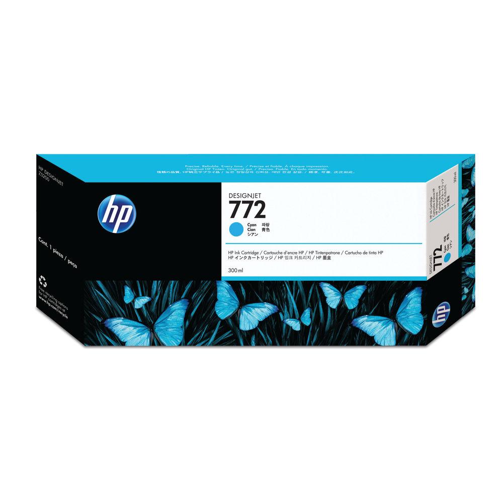 HP 772 Cyan Ink Cartridge - CN636A