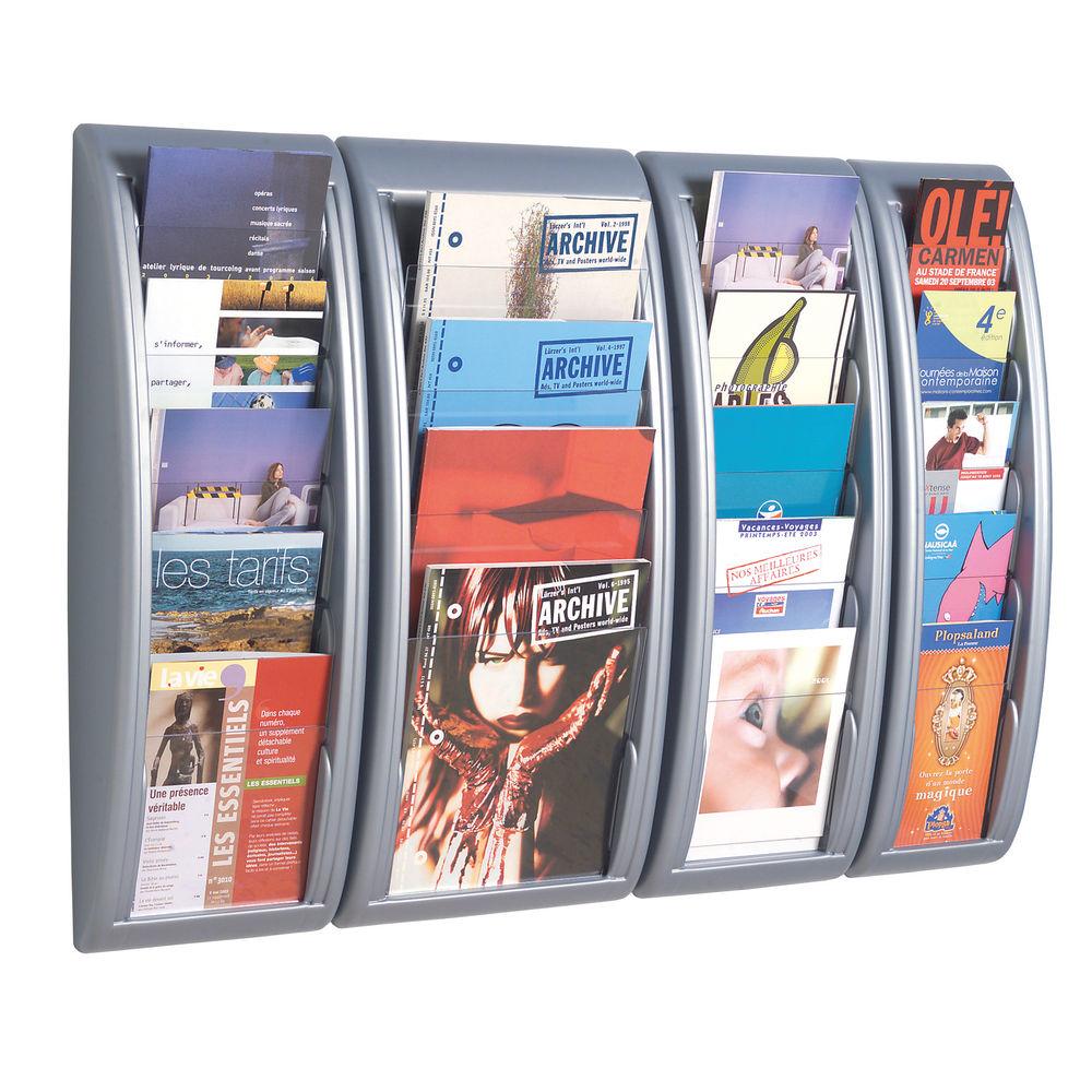 Fast Paper System A4 Aluminium Wall Display 4061.35