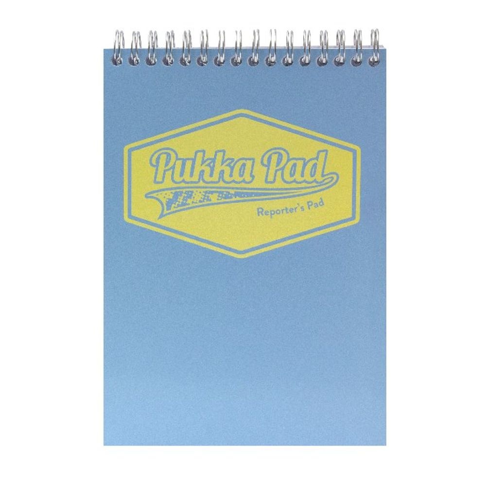 Pukka Pad Assorted Pastel Reporters Pad, Pack of 3 - 8907-PST