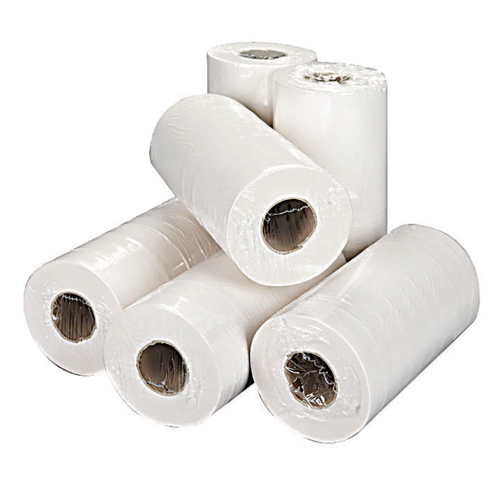 2Work White 2-Ply Hygiene Rolls, Pack of 18 - H2W240